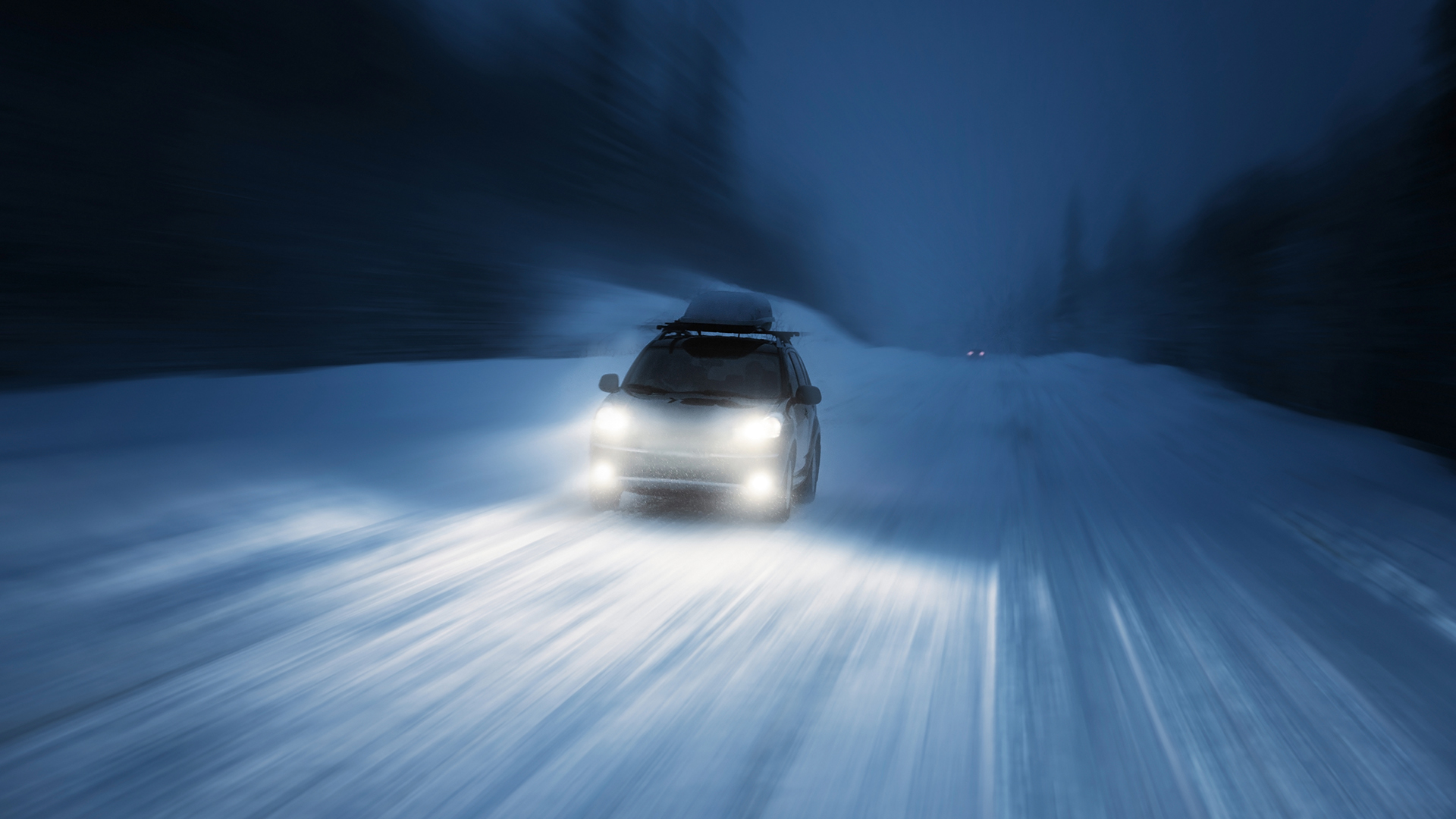 Cold Weather And Driving Met Office