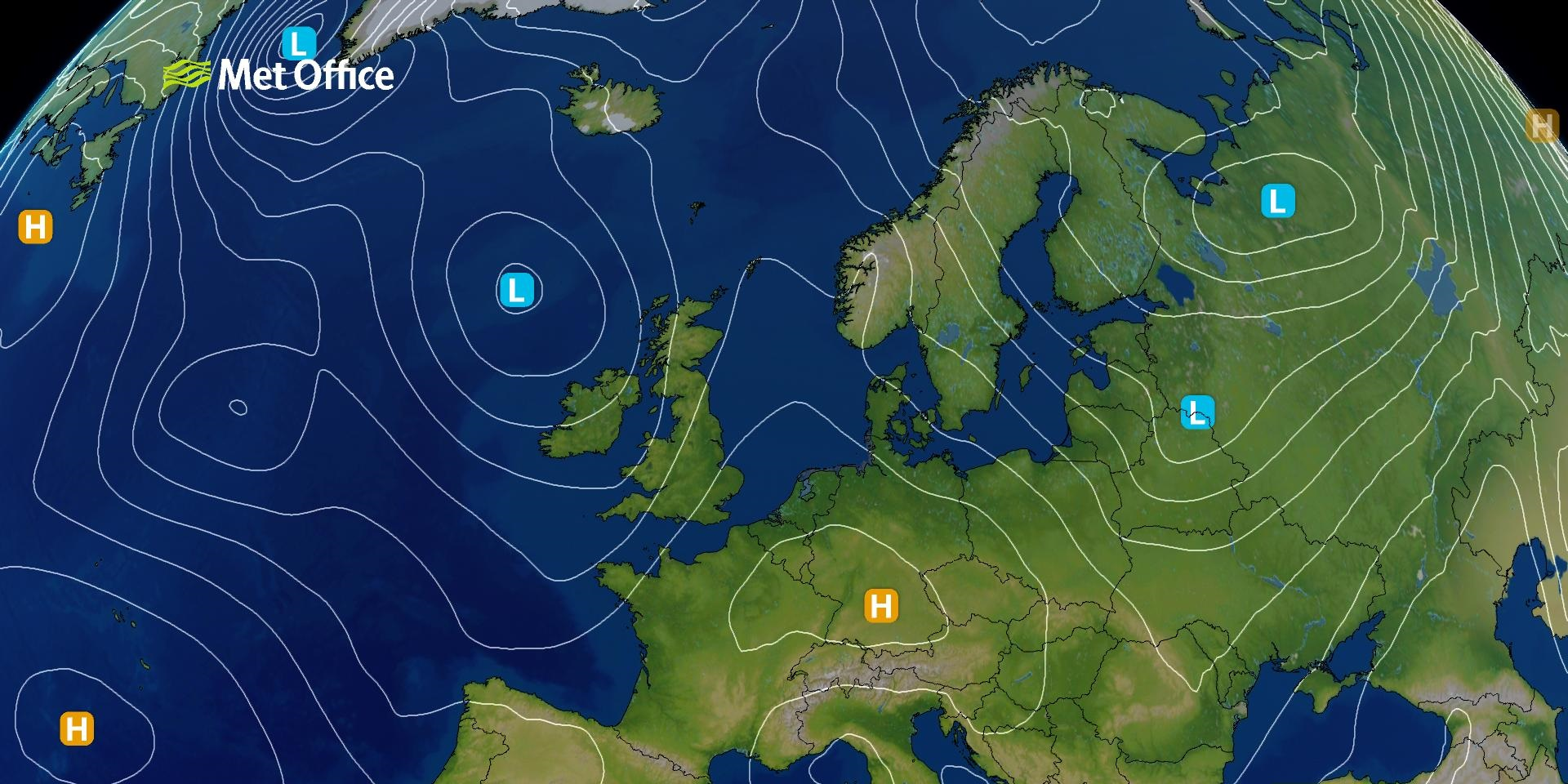 Surface Pressure Charts - Met Office on weather forecast europe map, european union countries map, live weather satellite india map, colorado rocky mountain topographic map, weather satellite california map, weather satellite south america, weather africa satellite map, weather satellite caribbean, weather satellite middle east,