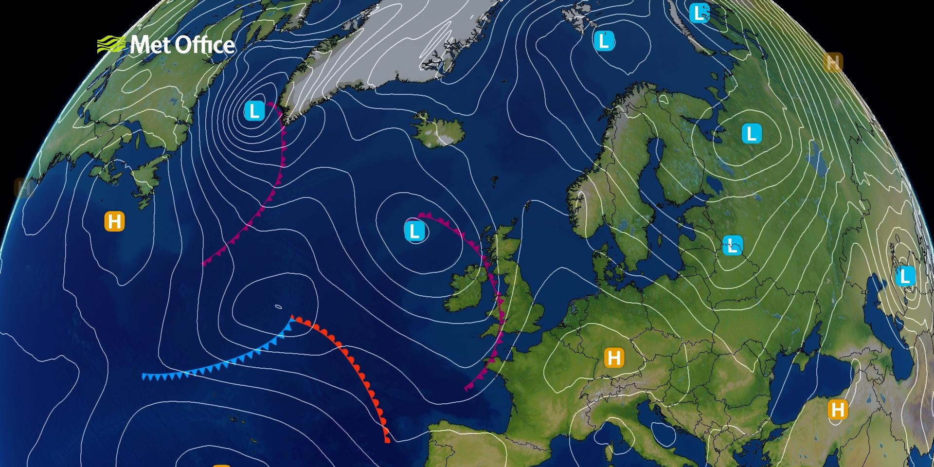 How to read synoptic weather charts met office - Met office mountain forecast ...