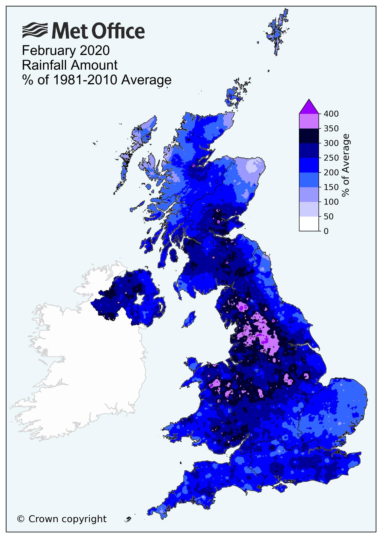 Record breaking rainfall