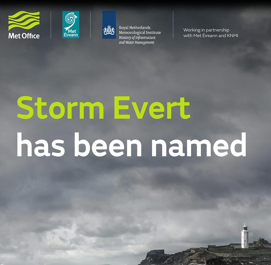 Storm Evert has been named