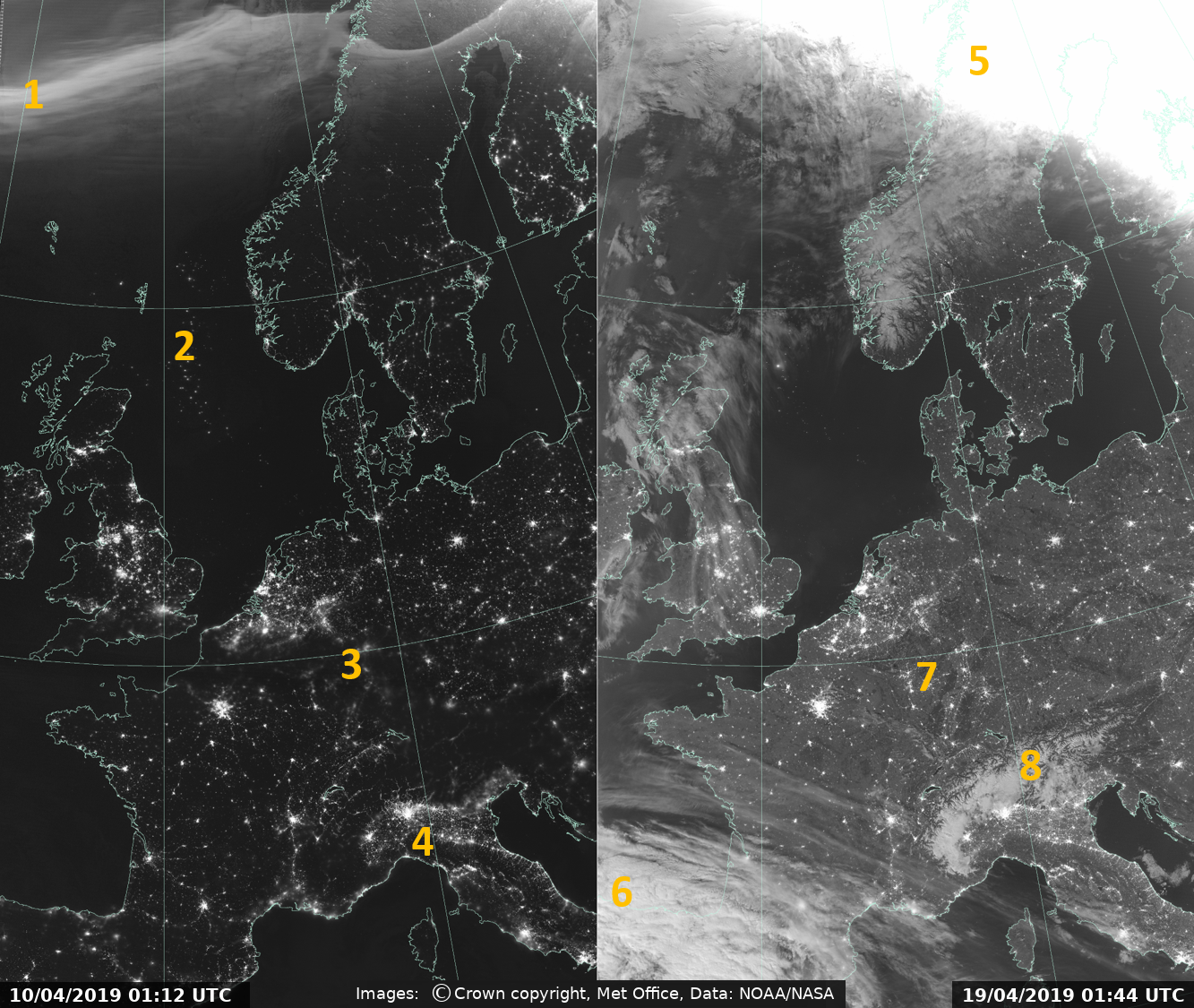 Satellite image of the month - Met Office